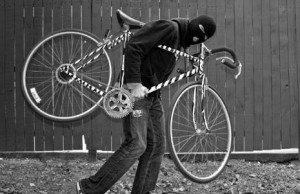 Lock your bike.