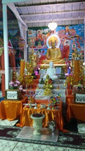 A Buddhist temple is a surprise in rural Missouri.