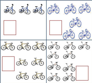 Bicycles. Do the math.