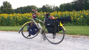 Bicycle touring. All the cool kids are doing it.