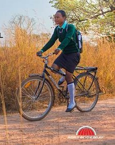 World Bicycle Relief gives mobility to students, health care workers, and entrepreneurs in Africa.